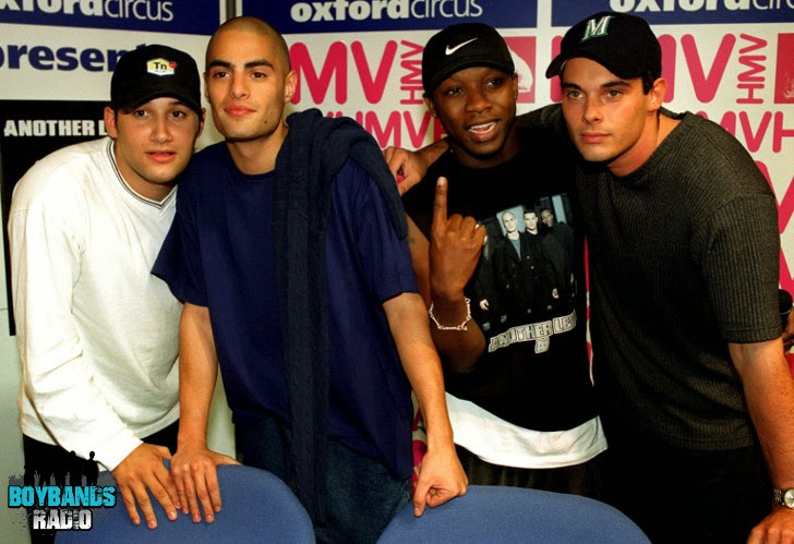 British boyband Another Level on BoybandsRadio.com