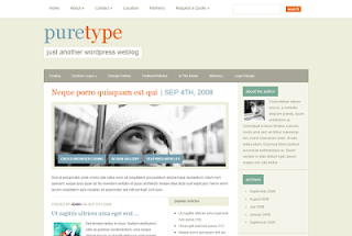 PureType WP Theme