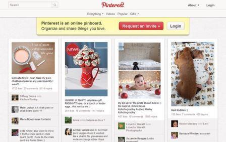 Organizar y compartir nuestras fotos favoritas, Pinterest