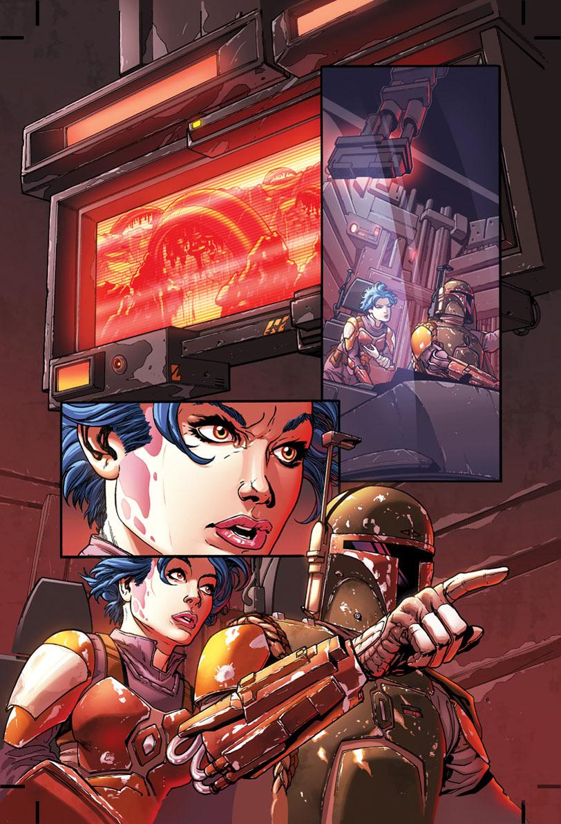 OMAR FRANCIA Comics STAR WARS