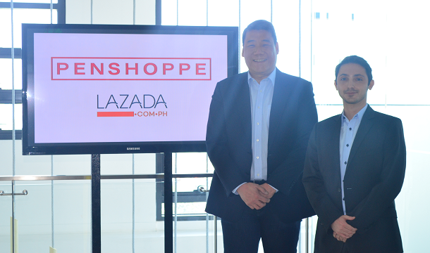 Penshoppe and Lazada Philippines