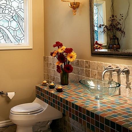 Belle decoration de salle de bain