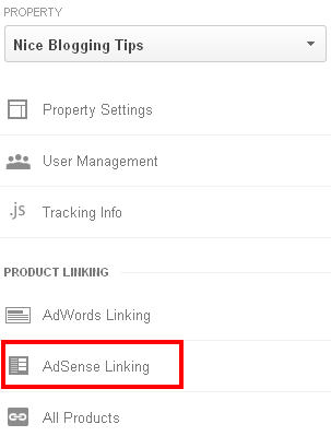 Link Google Adsense To Analytics