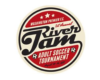 logo retro and vintage style