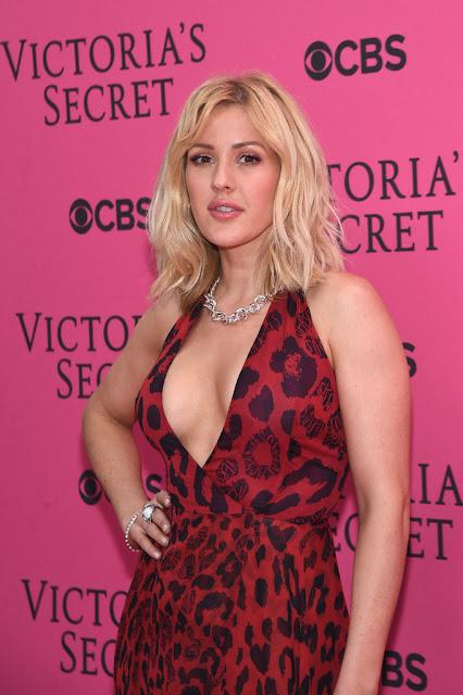 Singer @ Ellie Goulding - Victoria's Secret Fashion Show in NYC