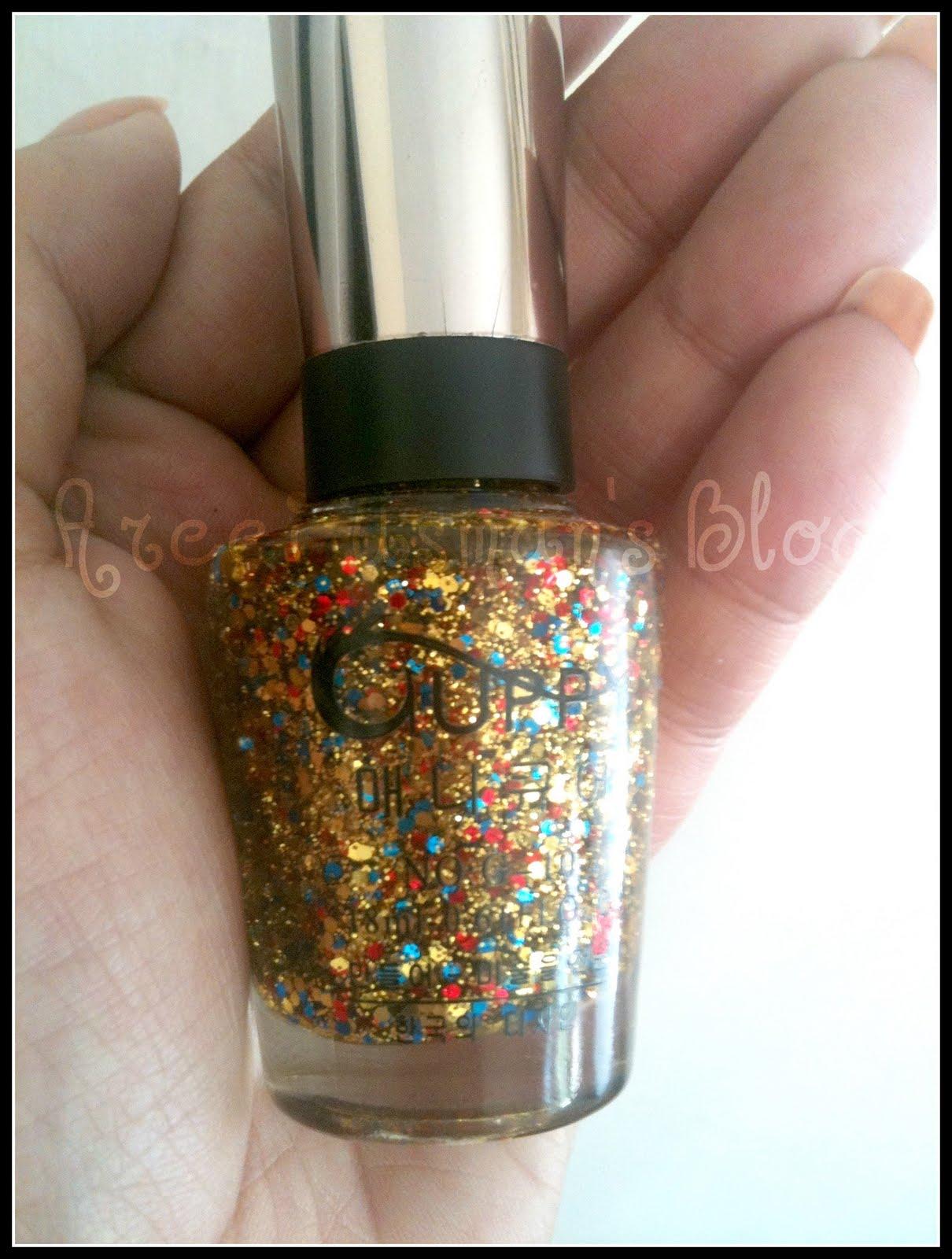 areej usman u0027s blog nail polish haul korean brand guppy