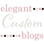 Blog Design by 'Elegant Custom Blogs'