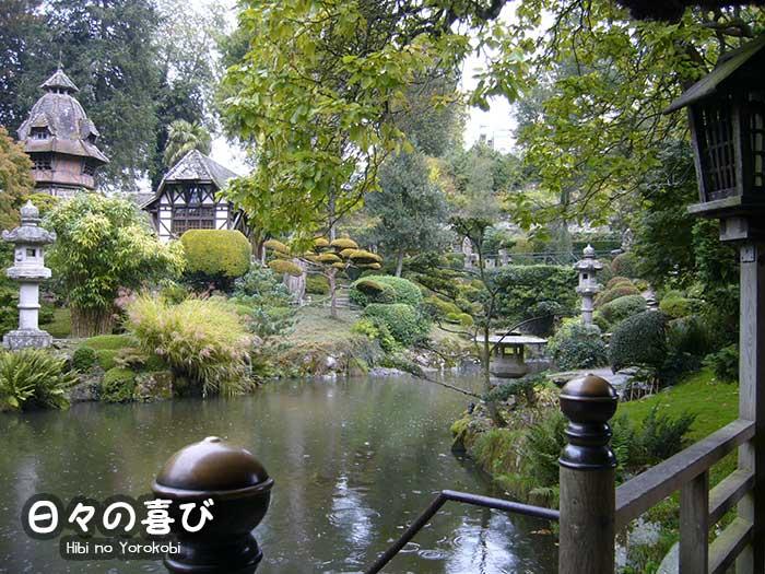 Un jardin sous la pluie hibi no yorokobi blog japon for Jardin japonais cholet