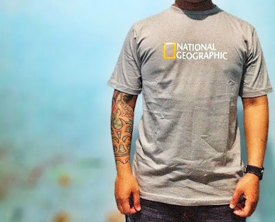 Model Baju Kaos National Geographic Terbaru 2015