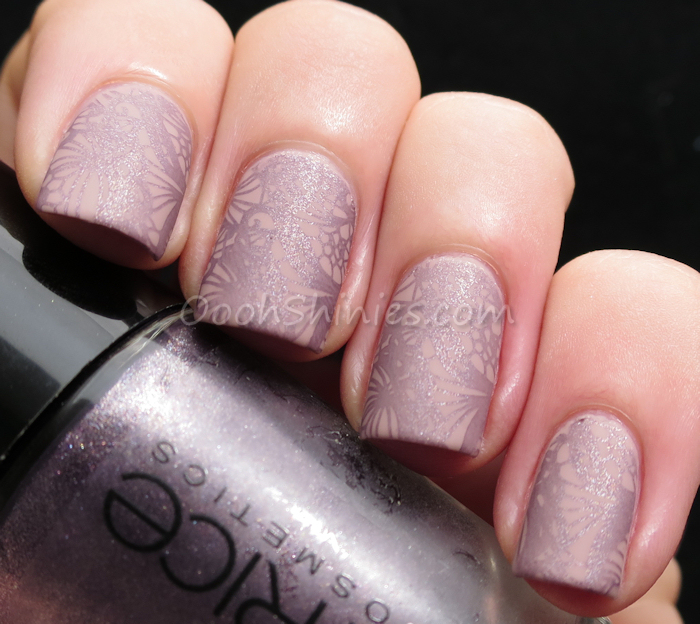 Catrice C02 with Catrice Purplelized, BPS plate QA92 and BPS Super Matte