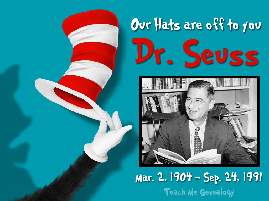 Theodor Seuss Geisel facts