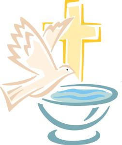 Catholic Baptism Clip Art