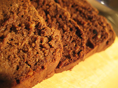 quinoa chocolate loaf