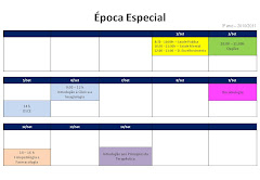 Calendrio de Exames 3 Ano - poca Especial