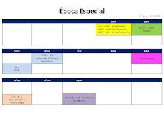 Calendário de Exames 3º Ano - Época Especial