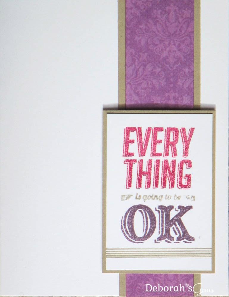 It's Okay - photo by Deborah Frings - Deborah's Gems