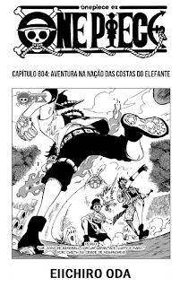One Piece 804 Mangá Português leitura online