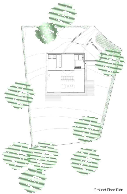 World of architecture modern villa v by paul de ruiter for Plan de villa moderne