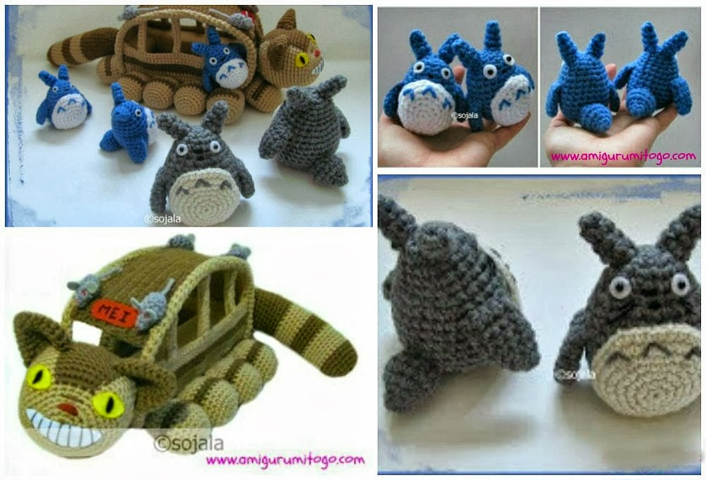 Free Amigurumi Wedding Couple Pattern : Video Free Totoro Amigurumi Patterns ~ Amigurumi To Go