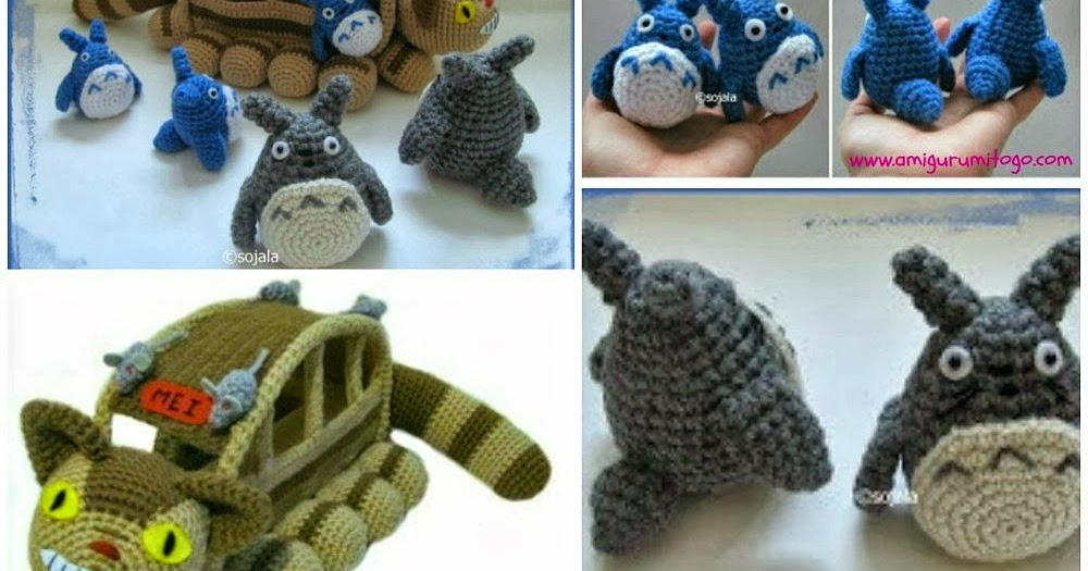 Video Free Totoro Amigurumi Patterns ~ Amigurumi To Go