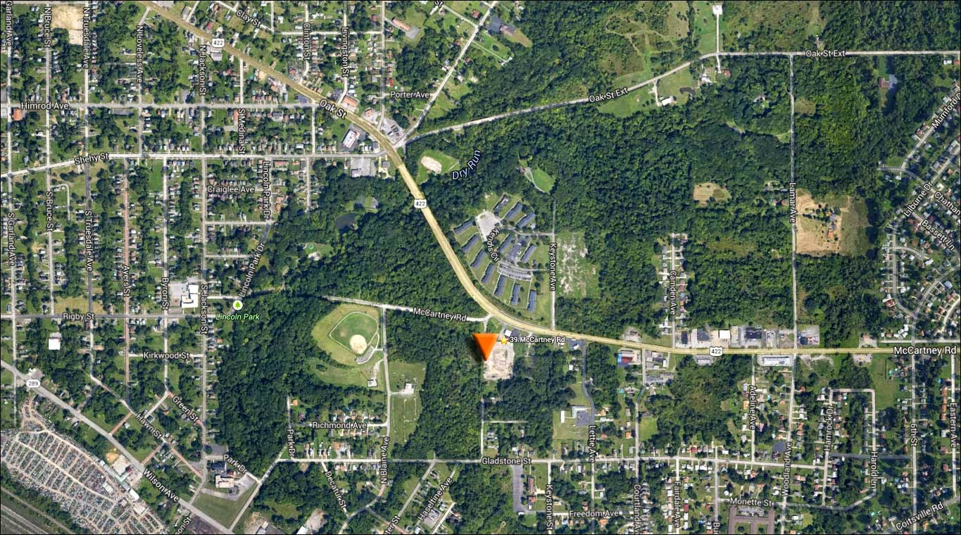 map image of NORTHSTAR KHALIL (SWIW #11)  3 39 McCartney Rd, Campbell, OH 44405 41.090531, -80.612180