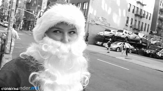 Retro Bikini: Youtube! Bar Refaeli In Santa Costume For ...