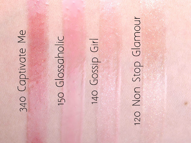 Rimmel London Oh My Gloss! Lip Glosses: Review and Swatches