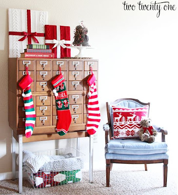 Styled Christmas Card Catalog