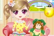 Kızına Masal Okuyan Anne Oyunu