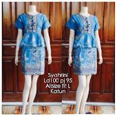 Dress Batik Katun  DB 5078