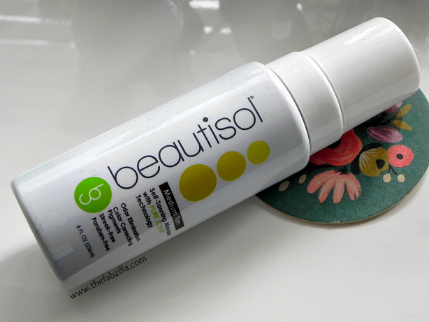 beautisol self-tanning mouse review, summer tanning, how to self-tan