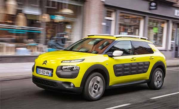 2015 Citroen C4 Cactus Review UK