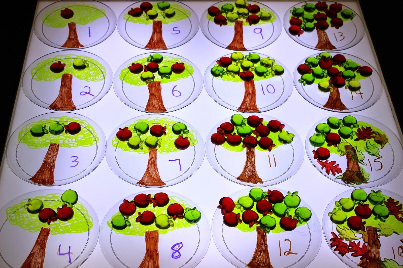 light table math ideas