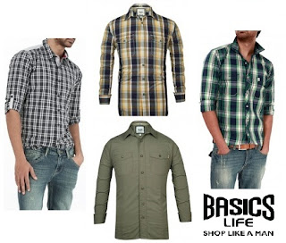 Flat 50% OFF on Casual Shirts @ BasicLife