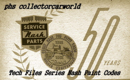 tech files 1952 1954 nash paint codes and reference for wheel rh phscollectorcarworld blogspot com