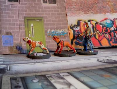 Zombicide, Zombie, Dog, Dogz, Puppy, Josh, painted