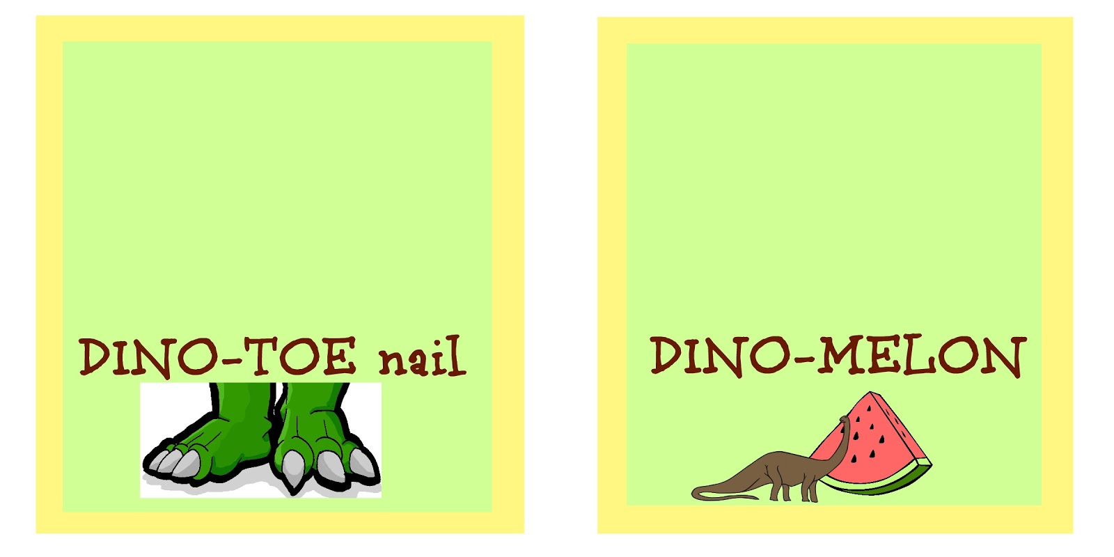 Dinosaur themed party and free printables