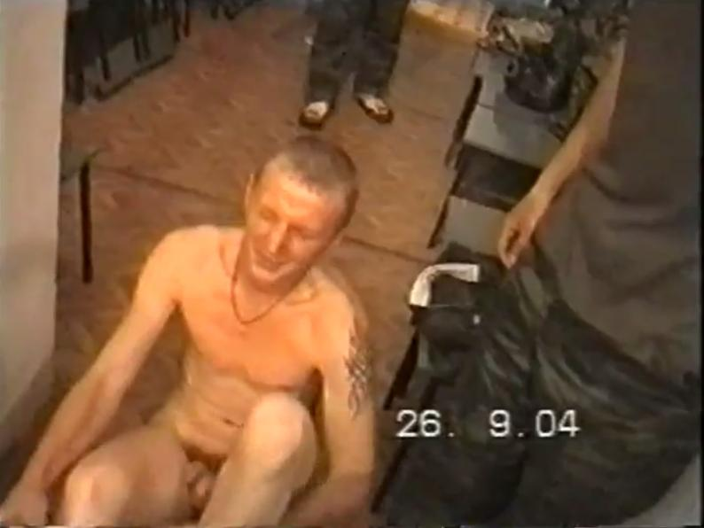 naked russian soldier
