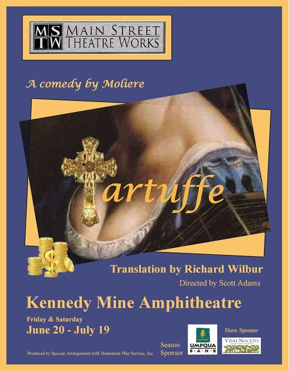 Main Street Theatre Works Presents: Tartuffe - June-July 2014