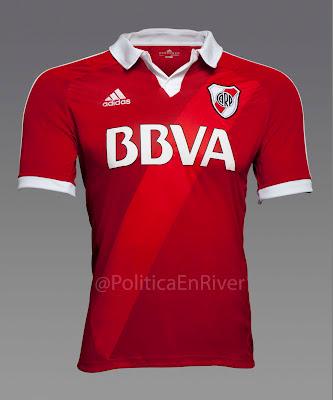 Camiseta Suplente River Plate 2012 2014