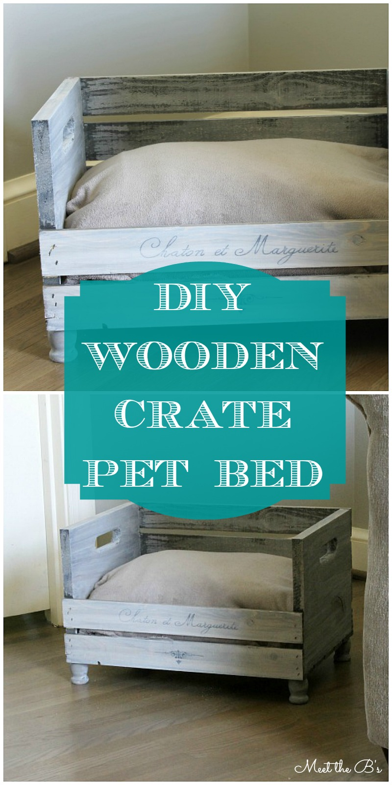 how to make a diy pet bed - the inspired hive
