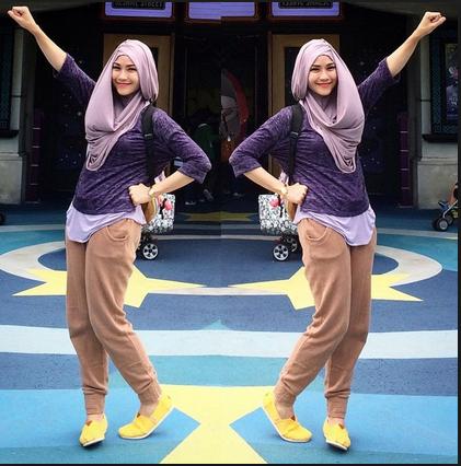 Inspirasi Fashion Style Cantik Ala Zaskia Adya Mecca