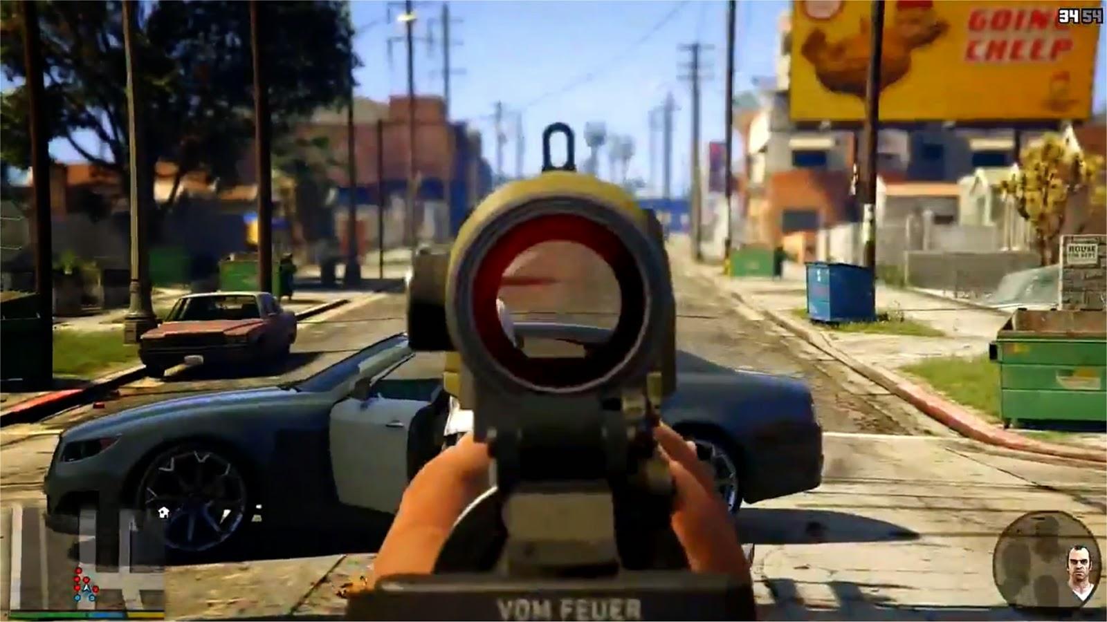 GTA 5 Ego-Perspektive