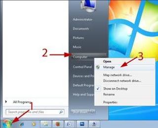 Click+the+start+menu+-+Right-click+Computer+Manage