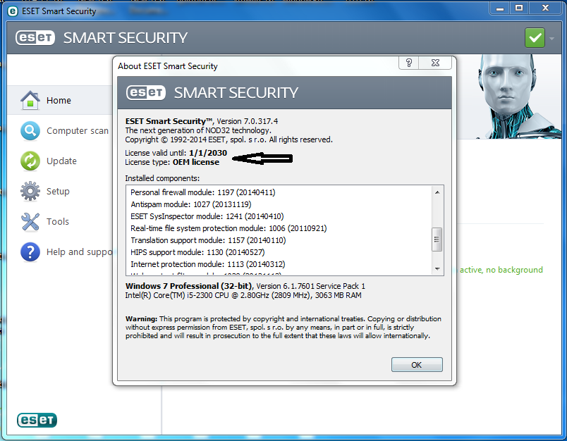 Generator 2014 SECURITY, 0 4 eset Smart post link Licencias free Red 7 19..