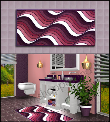 Originali tappeti per il bagno che arredano a prezzi bassi - Tappeti moderni per bagno ...