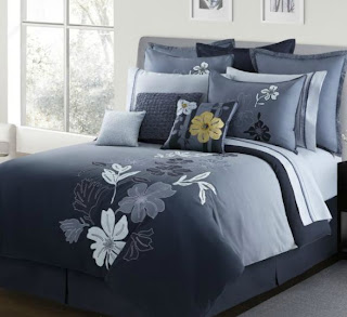 modern style tropical comforter set