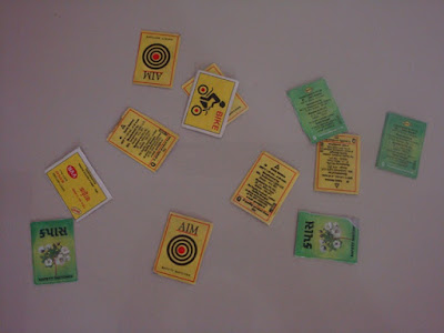 Matchbox cards