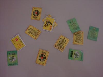 Matchbox cards
