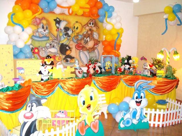 tema de festa infantil Baby Looney Tunes